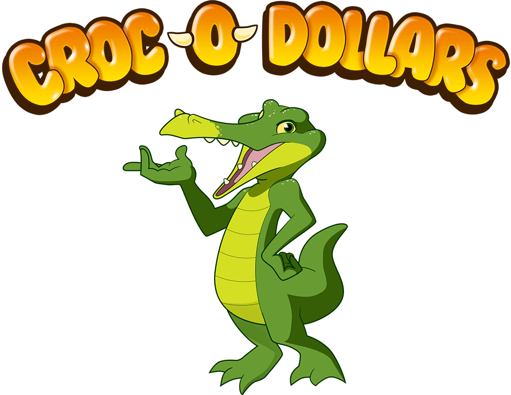 Croc-O-Dollars Illustration