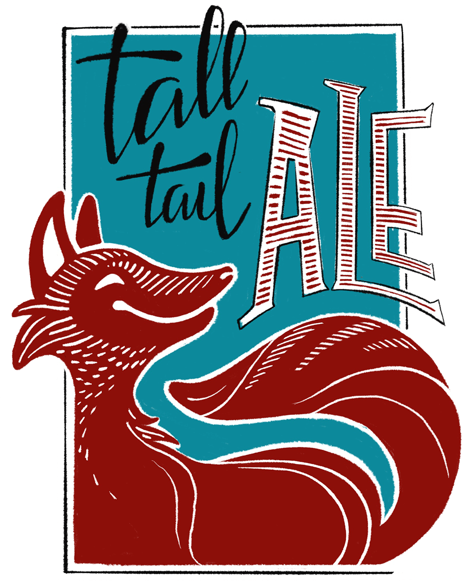 Tall Tail Ale beer label